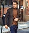 business casual, blazer og jeans, uformell